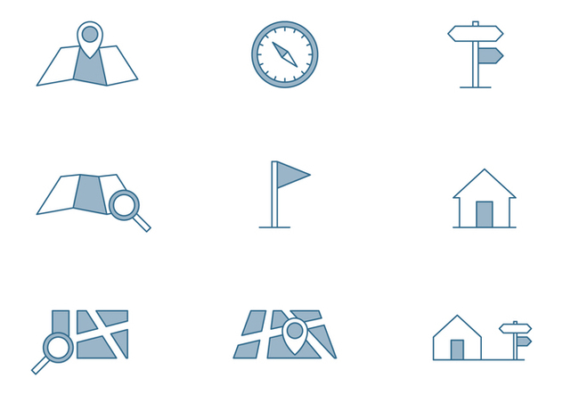 Map Symbol Icon - Free vector #445847