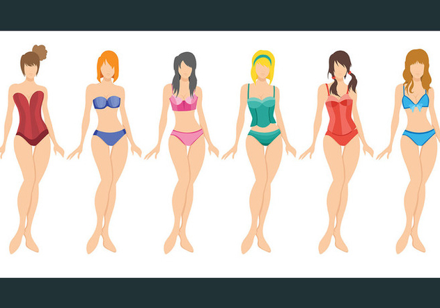 Bustier Vector Icons - Free vector #445857