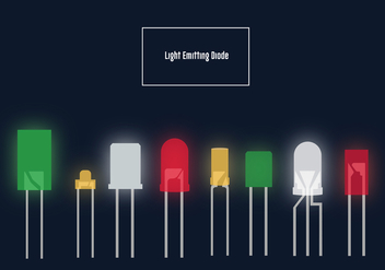 Led Lights Vector Pack - vector #446307 gratis
