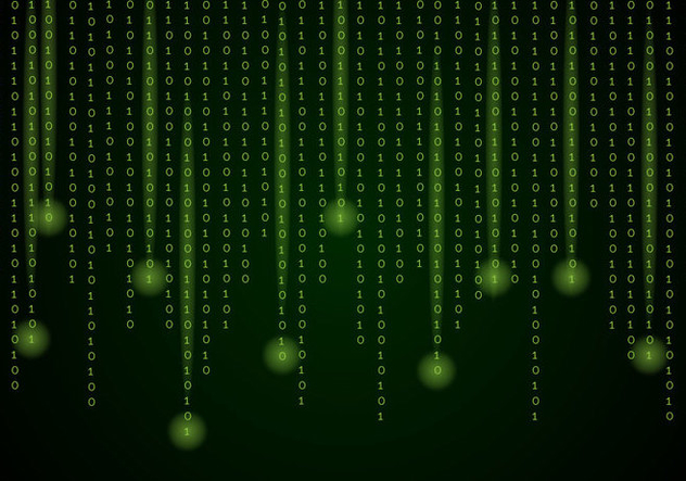 Matrix Background Vector - vector gratuit #446327