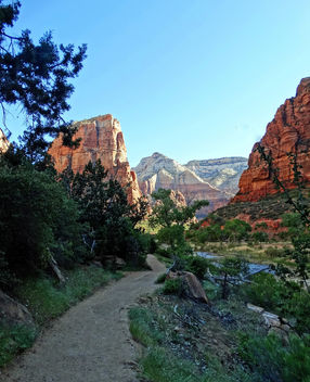 Trail to Angels Landing, Zion NP 2014 - бесплатный image #446487