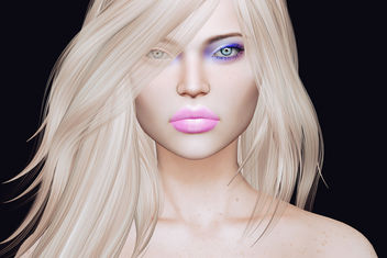 Della lips & Margret eye makeup by Zibska @ The Seasons Story - image #447137 gratis
