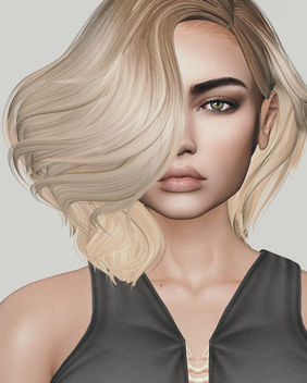 Skin Petra by Essences @ Kustom9 & Hairstyle Alexandra by Iconic @ Uber Birthday round (soon) - image gratuit #447277