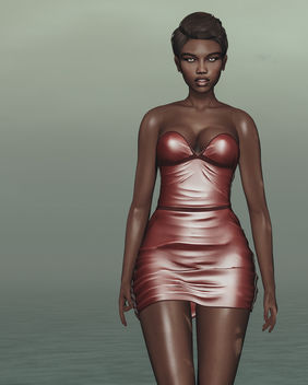 Dress Dixie by Lybra @ Kinky event - Free image #447637