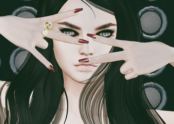 Futura Mesh Nails & Interlace Bento Ring by SlackGirl @ Limit8 - image #447897 gratis