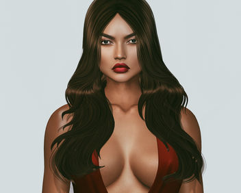 Lipstick Dana by Modish & Hairstyle Promise (Group Gift) by Iconic - image #448297 gratis