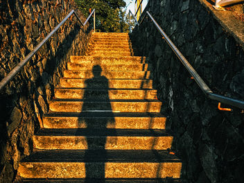 Sunrise Stairs - image #448667 gratis