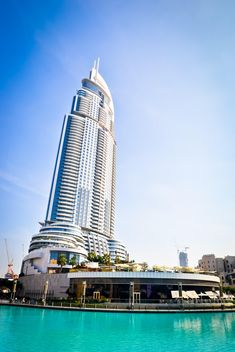 Address Hotel and Lake Burj Dubai in Dubai - image gratuit #449637