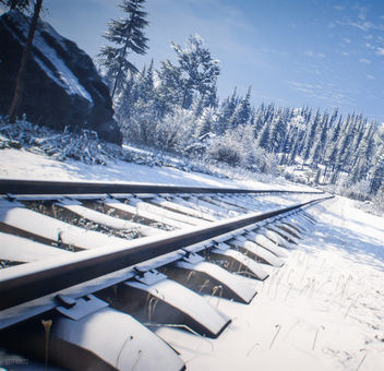 TheHunter: Call of the Wild / Waiting For The Train - бесплатный image #450487
