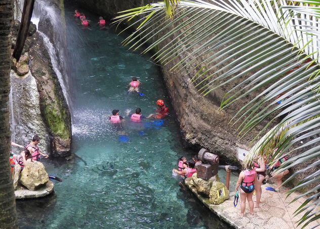 Mexico (Cancun-Xcaret Naturel Park) Swimming in the underground rivers1 - Free image #451317