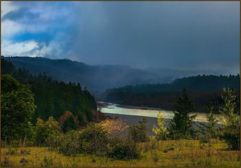 Storm over the Eel River - Free image #451417