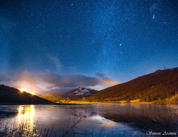 Winter Lake in Castel Santa Maria - бесплатный image #451797