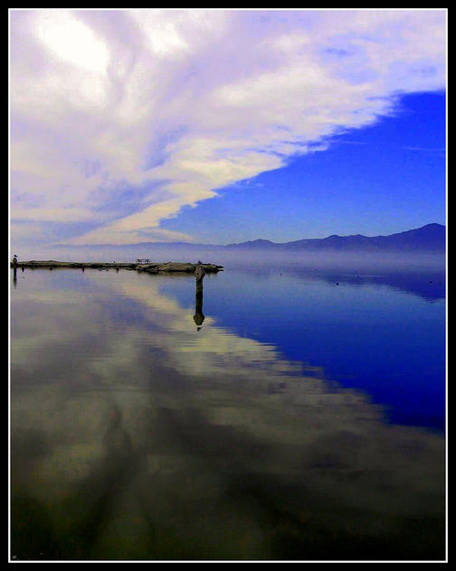 Salton Sea Sky, California - image #451957 gratis