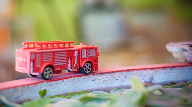 Toy fire truck - Kostenloses image #452577