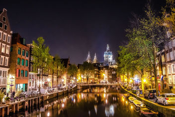 Midnight in Amsterdam - Free image #453827