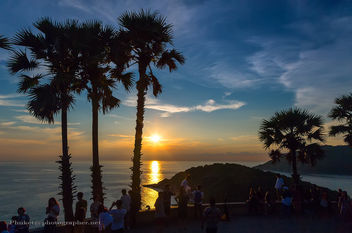 Sunset at Promthep Cape, Phuket, Thailand - бесплатный image #453987