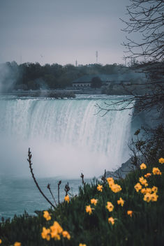 It looks like the Canadian view of the falls is nicer than the American one! - Free image #454807