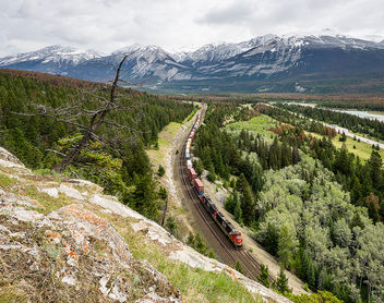 CN, English in Jasper NP from North to South, 11.06.2018 - image gratuit #454917