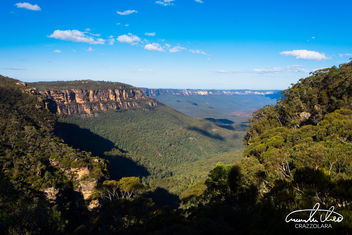 Blue Mountains Landscape - image gratuit #456257