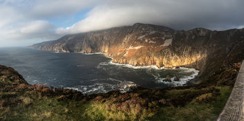 Slieve League Sunset - Donegal, Ireland - Seascape photography - image gratuit #457367