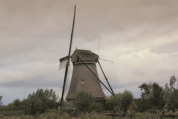 Holland - windmills of Kinderdijk - image #457497 gratis