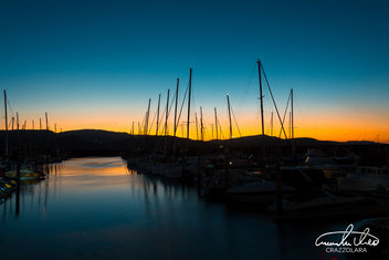 Airlie Beach Harbour Sunset - Free image #458707