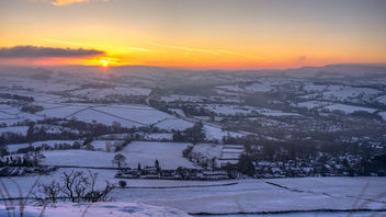 Sunrise over Chinley - Kostenloses image #459137