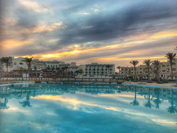 Royal Aqua Lagoon sunset, Hurghada, Egypt - Free image #459827