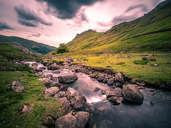 Helm Crag - Lake District, England - Landscape photography - Free image #461497
