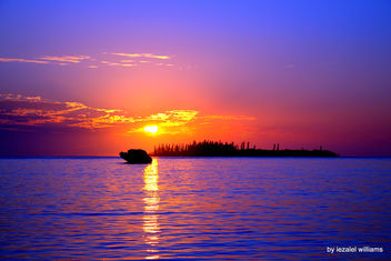 Sunset by iezalel williams - Isle of Pines in New Caledonia - IMG_8234-001 - Canon EOS 700D - Kostenloses image #461547