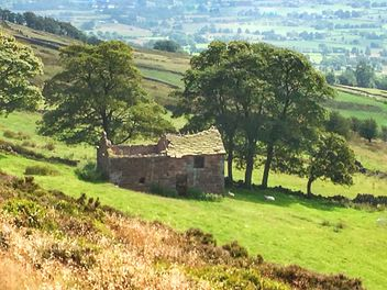 The barn, the roaches, Peak District, England - Kostenloses image #462577