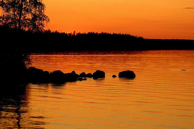 The friday orange sunset... - image #462847 gratis