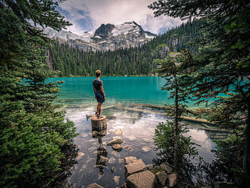 Joffre Lakes - British Columbia, Canada - Travel photography - Kostenloses image #463137