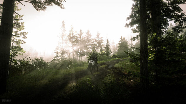 Red Dead Redemption 2 / A Rainy Evening - Free image #468217