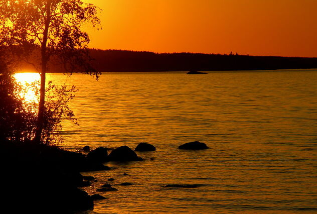 Orange sunset - Free image #471897