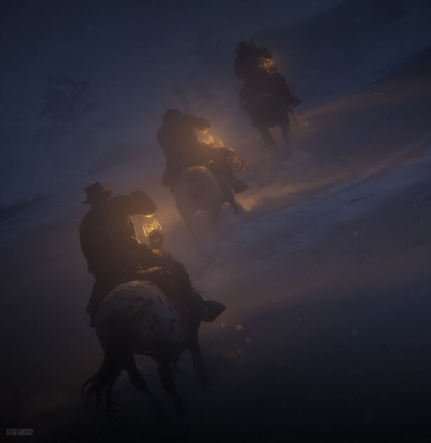 Red Dead Redemption 2 / A Shady Night - Kostenloses image #473567