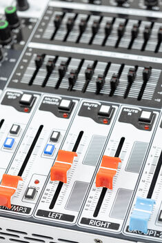 Channel details of Studio Mixer equipment technology for sound recording - image #476887 gratis