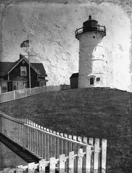 Lighthouse Mural - Free image #477597